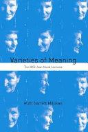 Varieties of Meaning ebook