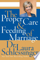 The Proper Care and Feeding of Marriage
