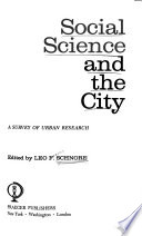 Social science and the city