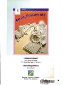 Come  Follow Me Book