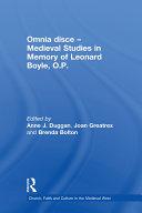 Omnia disce – Medieval Studies in Memory of Leonard Boyle, O.P. [Pdf/ePub] eBook