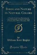 Birds And Nature In Natural Colors Vol 14