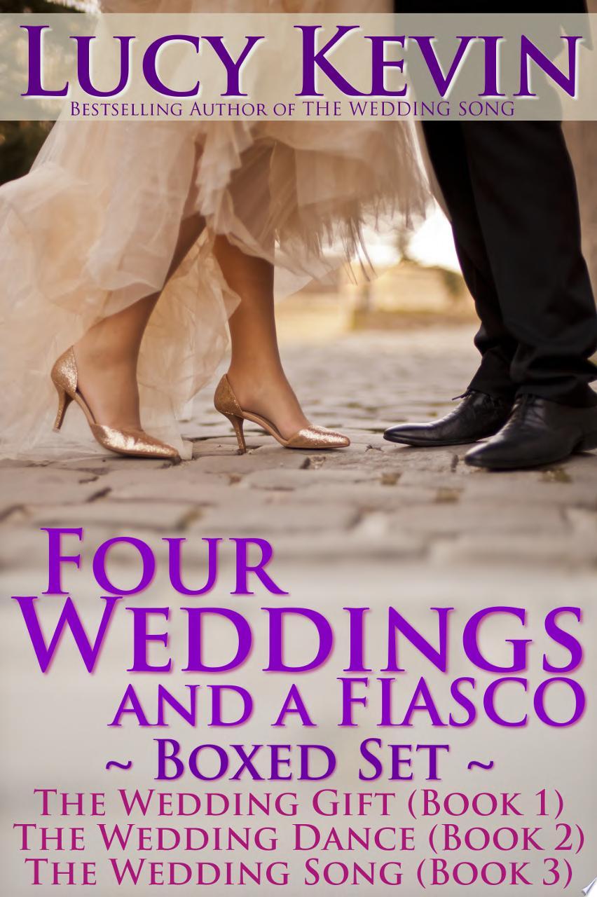 Four Weddings and a Fiasco Boxed Set  Books 1 3