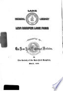 Annual Report Of The Commissioner Of The Michigan Department Of Health For The Fiscal Year Ending 1892