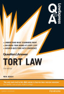 Law Express Question and Answer: Tort Law 2nd edn