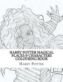 Harry Potter Magical Places   Characters Colouring Book