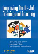 Improving On-the-job Training and Coaching