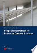Computational Methods for Reinforced Concrete Structures Book