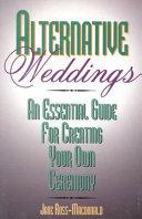 Alternative Weddings Book PDF