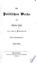 Die politischen Werke von Thomas Paine