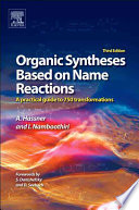 Organic Syntheses Based on Name Reactions Book