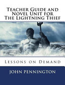 Teacher Guide and Novel Unit for the Lightning Thief