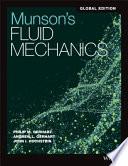 Munson, Young and Okiishki′s Fundamentals of Fluid Mechanics