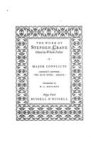 The Work of Stephen Crane: Major conflicts. George's mother, The blue hotel, Maggie ebook