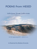Poems from Hesed~ Selections from Collections [Pdf/ePub] eBook