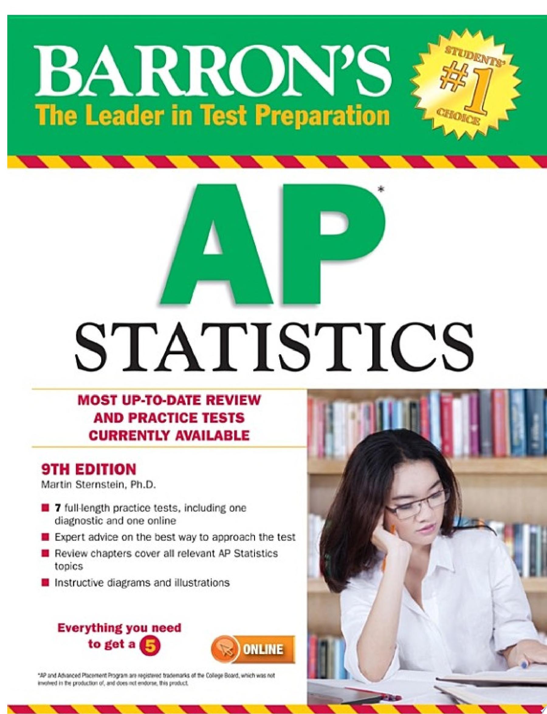 Barron s AP Statistics  9th edition