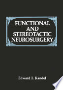 Functional And Stereotactic Neurosurgery Book PDF