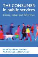 The Consumer in Public Services