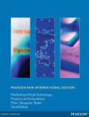 Marketing of High Technology Products and Innovations  Pearson New International Edition