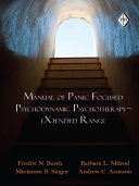 Manual of Panic Focused Psychodynamic Psychotherapy     EXtended Range