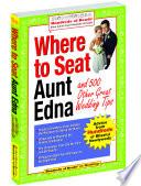 Where To Seat Aunt Edna Book PDF