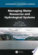 Managing Water Resources and Hydrological Systems