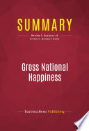 Summary: Gross National Happiness