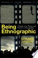 Being Ethnographic Book PDF