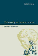 Pdf Philosophy and Memory Traces