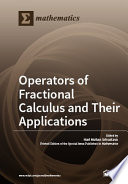 Operators Of Fractional Calculus And Their Applications Book PDF