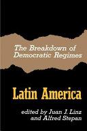 The Breakdown of Democratic Regimes Book