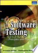 """Software Testing: Principles and Practice"" by Srinivasan Desikan, Gopalaswamy Ramesh"