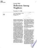 Reflections Among Neighbors