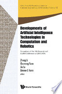Developments Of Artificial Intelligence Technologies In Computation And Robotics   Proceedings Of The 14th International Flins Conference  Flins 2020