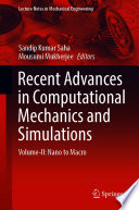Recent Advances in Computational Mechanics and Simulations Book