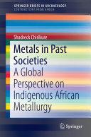Metals in Past Societies