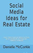 Social Media Ideas for Real Estate Book