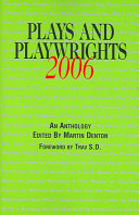 Plays And Playwrights 2006 Book