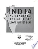 India Environmental Technologies Export Market Plan