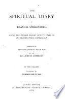 The Spiritual Diary of Emanuel Swedenborg