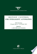 Motion Control for Intelligent Automation
