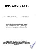 HRIS Abstracts