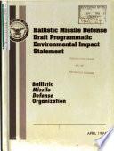 Ballistic Missile Defense  BMD  Program Book