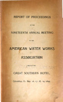 Report of Proceedings of the Annual Meeting of the American Water Works Association