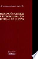 Prevención general e individualización judicial de la pena