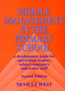 Middle Management in the Primary School