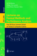 Lectures on Formal Methods and Performance Analysis