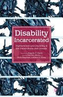 Disability Incarcerated Pdf/ePub eBook