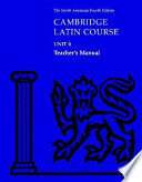 Cambridge Latin Course Unit 4 Teacher's Manual North American edition