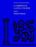 Cambridge Latin Course Unit 4 Teacher s Manual North American edition